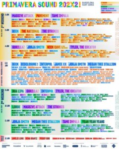 Primavera Sound 2022 line-up: The Strokes, Nick Cave, Lorde and more