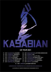 Kasabian announce first tour without lead singer Tom Meighan