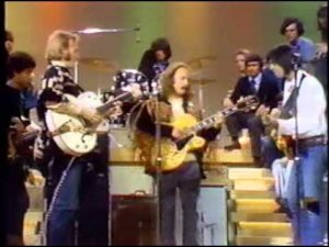 Watch Crosby, Stills, Nash & Young perform 'Down By The River' back in 1970