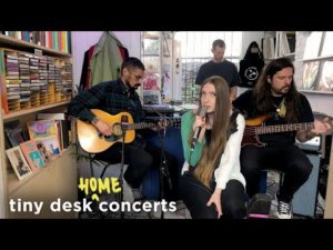 Watch Dry Cleaning's NPR 'Tiny Desk (Home) Concert'