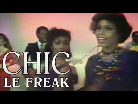 The sarcasm rooted in Chic's disco anthem 'Le Freak'