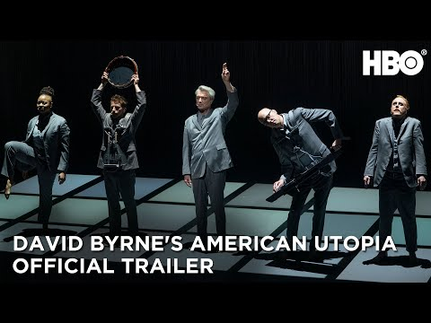 David Byrne receives special Tony Award for American Utopia