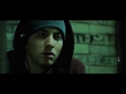 Eminem works at takeout window during Mom's Spaghetti grand opening