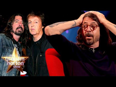 Dave Grohl remembers his first meeting with Paul McCartney and Ringo Starr